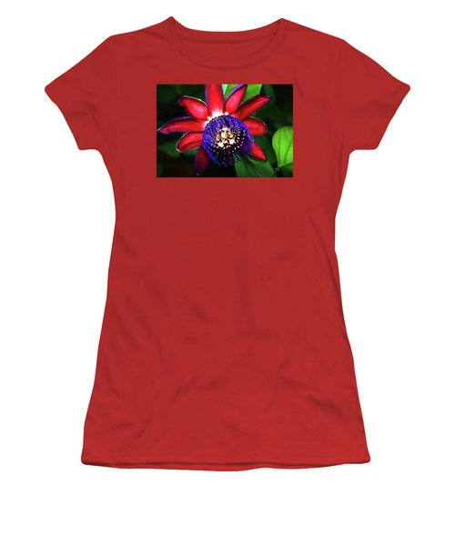 Women's T-Shirt (Junior Cut) featuring the photograph Passion Flower by Anthony Jones