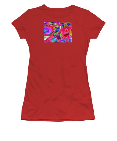 Pattern 246 _ Wow  Women's T-Shirt (Athletic Fit)