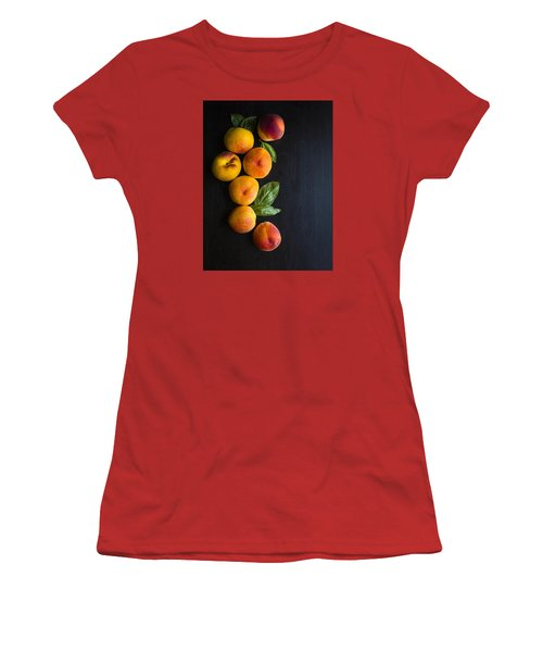 Peaches And  Basil Women's T-Shirt (Junior Cut) by Nicole English