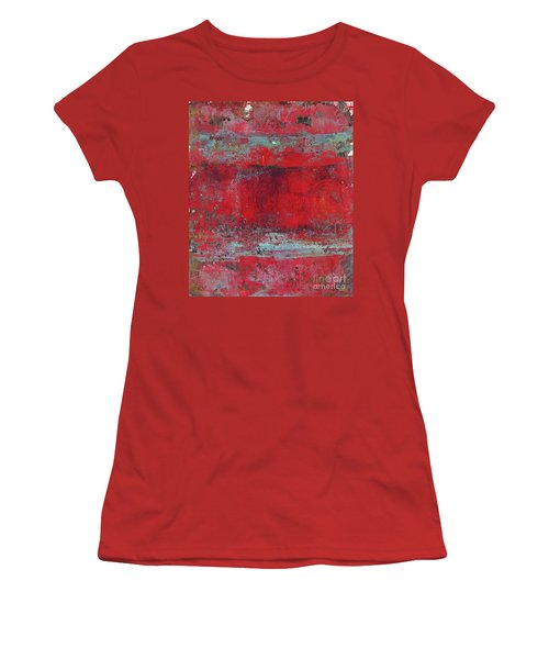 Peeling Wall Women's T-Shirt (Athletic Fit)