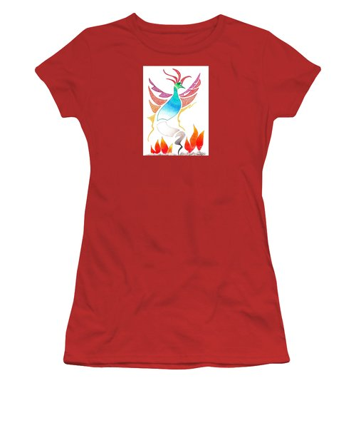 Phoenix Rising Women's T-Shirt (Athletic Fit)