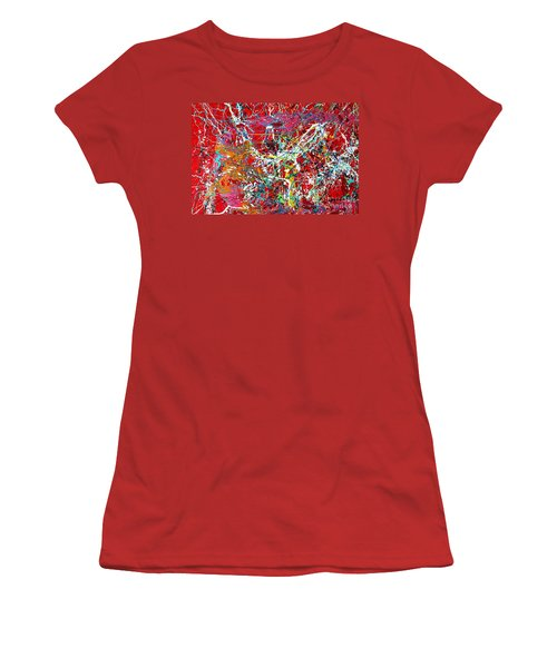 Pictographic Interpretation Women's T-Shirt (Athletic Fit)