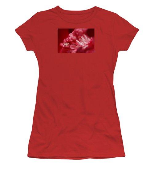 Pink Delight Women's T-Shirt (Junior Cut) by Robert Och