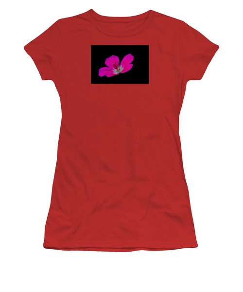 Pink Stamen Women's T-Shirt (Junior Cut) by Richard Patmore