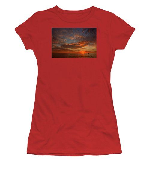 Plum Island Sunrise Women's T-Shirt (Athletic Fit)