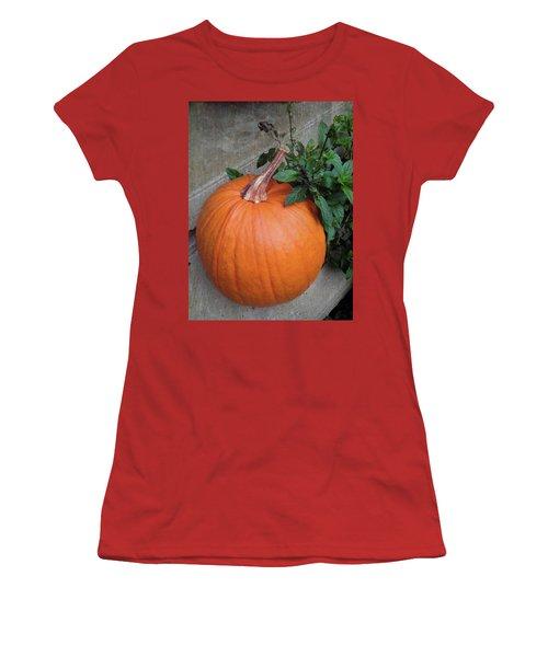 Pumpkin Women's T-Shirt (Athletic Fit)