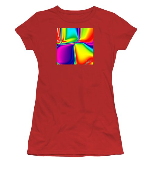 Rainbow Trip Women's T-Shirt (Athletic Fit)