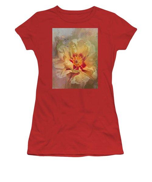 Rayanne's Peony Women's T-Shirt (Junior Cut) by Jeff Burgess