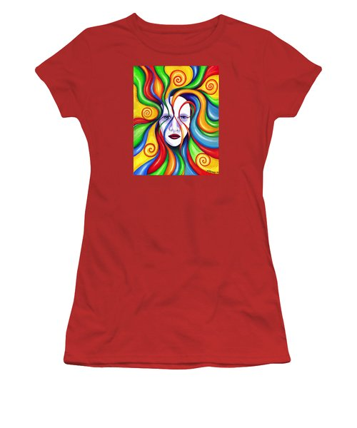 Rebirth Women's T-Shirt (Junior Cut) by Shawna Rowe