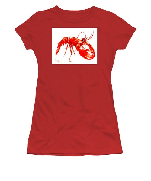 Red Lobster Women's T-Shirt (Athletic Fit)