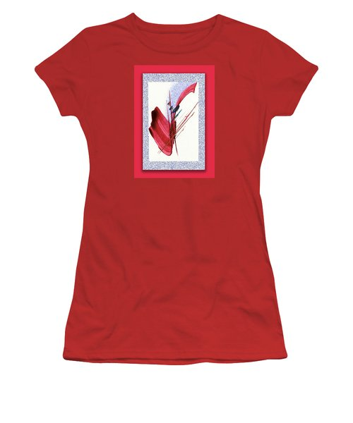 Red Sax Women's T-Shirt (Athletic Fit)