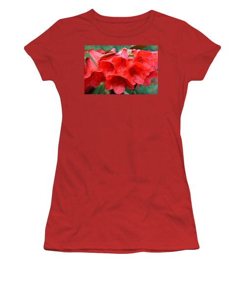 Red Trumpet Rhodies Women's T-Shirt (Athletic Fit)