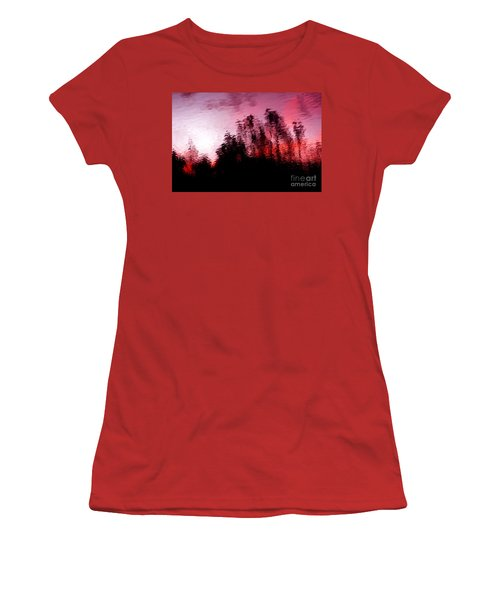 Red Waters Women's T-Shirt (Athletic Fit)