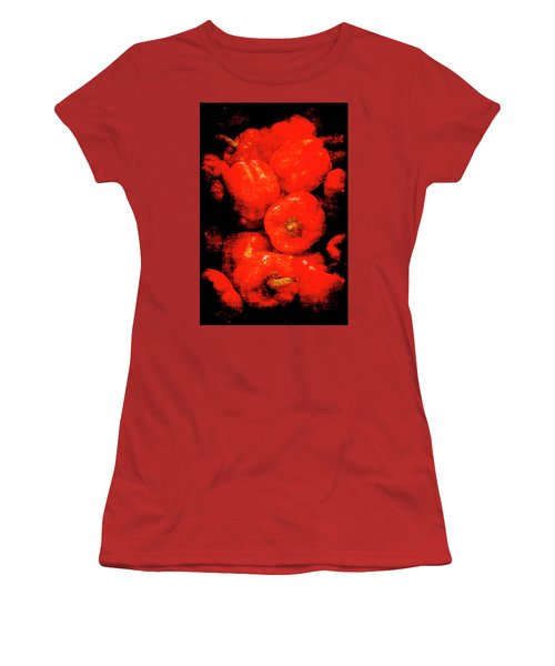 Renaissance Red Peppers Women's T-Shirt (Athletic Fit)