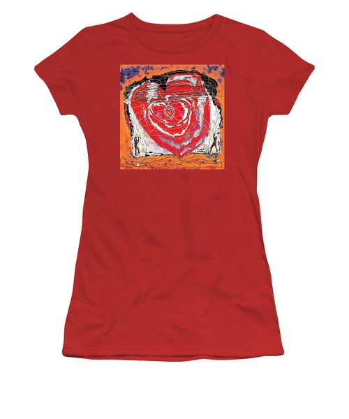 Rescuers Of The Broken Heart Women's T-Shirt (Athletic Fit)