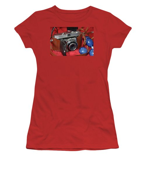 Women's T-Shirt (Athletic Fit) featuring the photograph Retina by John Schneider