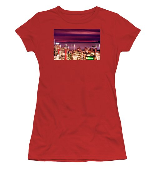 Romantic English Bay Women's T-Shirt (Junior Cut) by Amyn Nasser