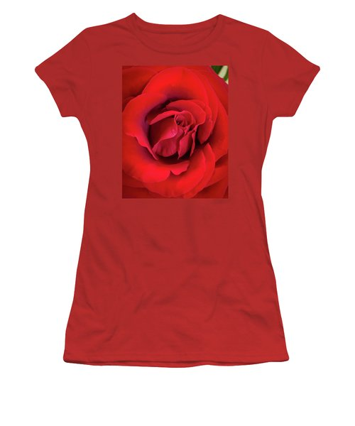 Rose Red 4 Women's T-Shirt (Athletic Fit)