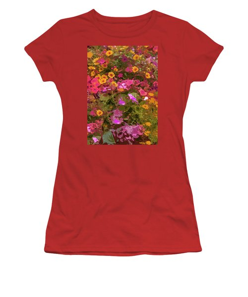 Rosy Garden Women's T-Shirt (Athletic Fit)