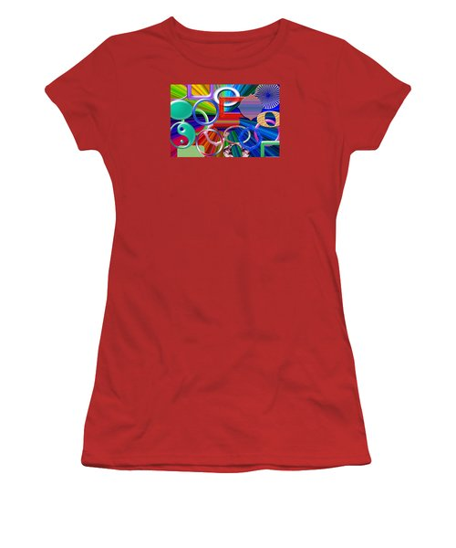 Rounded Women's T-Shirt (Junior Cut) by Tina M Wenger