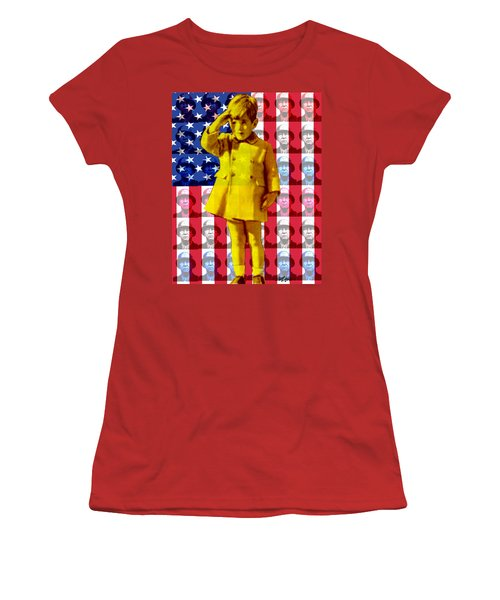 Salute Women's T-Shirt (Athletic Fit)
