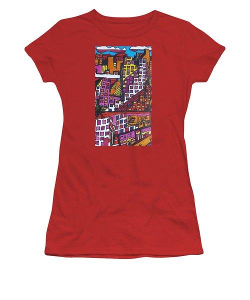 San Francisco  Women's T-Shirt (Junior Cut) by Don Koester