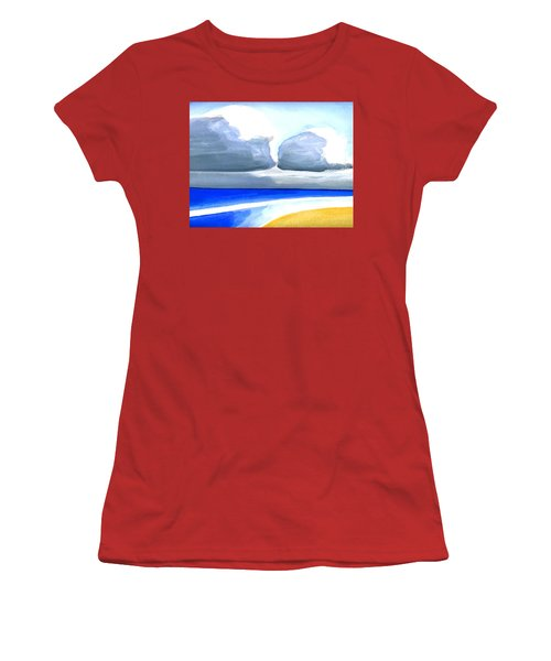 San Juan Cloudscpe Women's T-Shirt (Junior Cut) by Dick Sauer