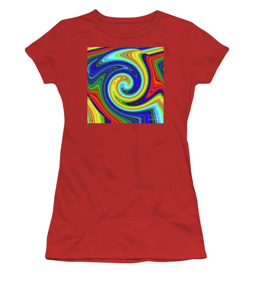 Sea Of Colors Women's T-Shirt (Athletic Fit)
