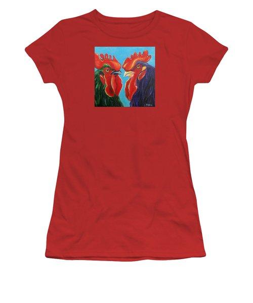 Secrets Women's T-Shirt (Junior Cut) by Susan DeLain