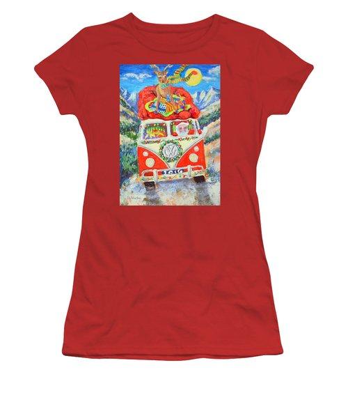 Sierra Santa Women's T-Shirt (Athletic Fit)