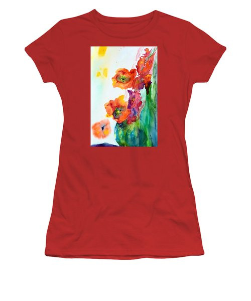 Sing Out Women's T-Shirt (Junior Cut) by Beverley Harper Tinsley
