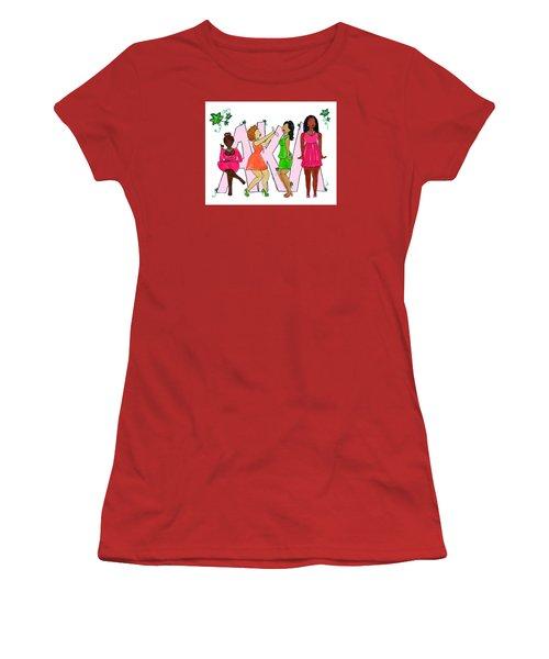 Skee Wee My Soror Women's T-Shirt (Junior Cut) by Diamin Nicole