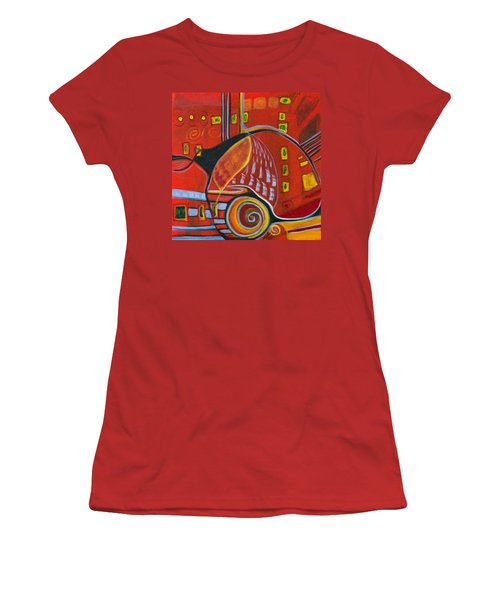 Slow Down Women's T-Shirt (Junior Cut) by Leela Payne