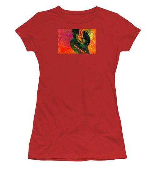 Snowing Women's T-Shirt (Athletic Fit)