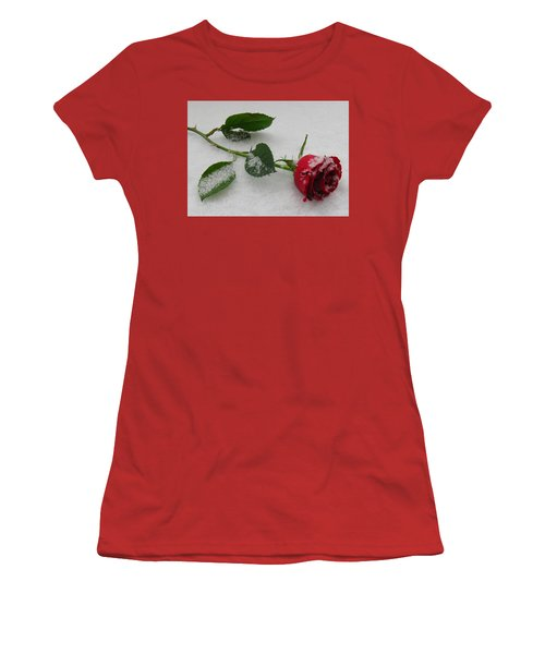 Richard's  Rose Women's T-Shirt (Athletic Fit)