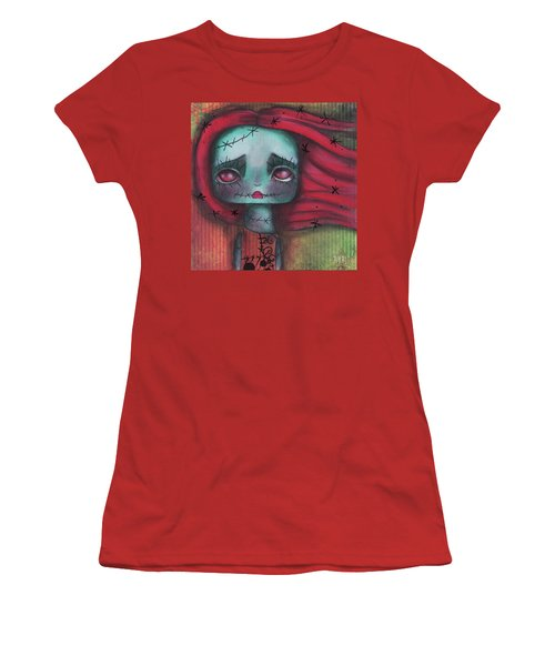 Something In The Wind Women's T-Shirt (Junior Cut) by Abril Andrade Griffith