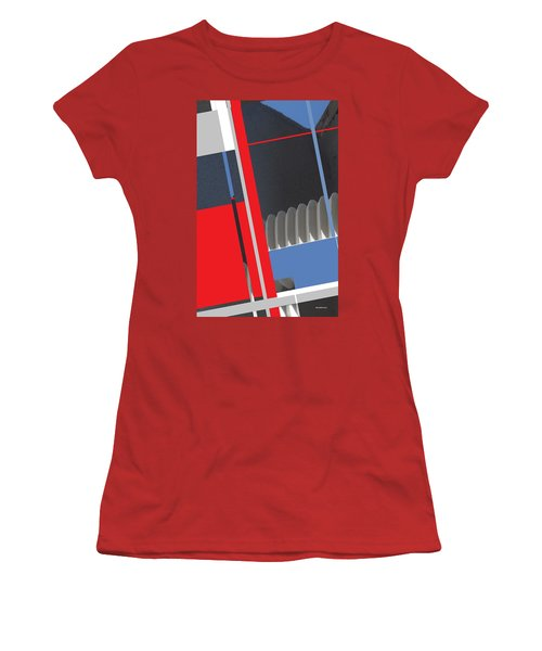 Spaceframe 2 Women's T-Shirt (Junior Cut) by Andrew Drozdowicz