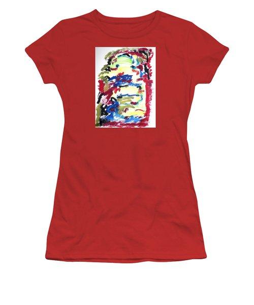 Spatial Outwardness Women's T-Shirt (Junior Cut) by Esther Newman-Cohen