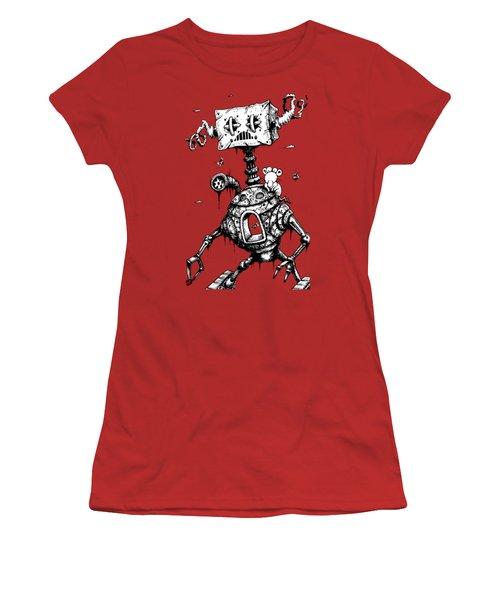 Sponge Head Women's T-Shirt (Athletic Fit)
