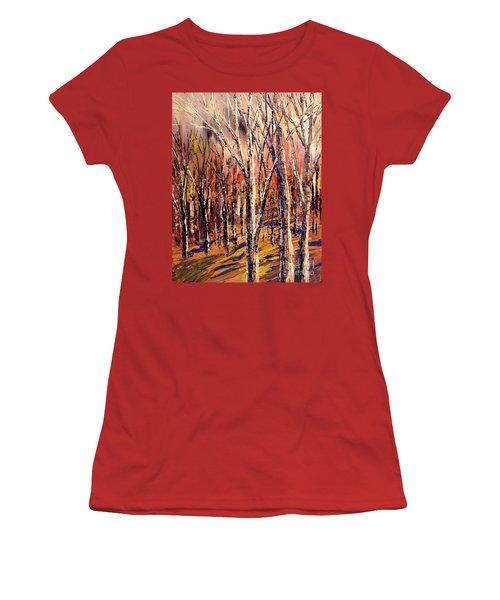 Squirrel Supermarket Women's T-Shirt (Junior Cut) by Tatiana Iliina