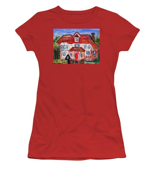 Stately City House Women's T-Shirt (Junior Cut) by Mary Carol Williams