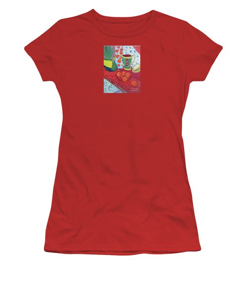 Still Life After Matisse Women's T-Shirt (Athletic Fit)