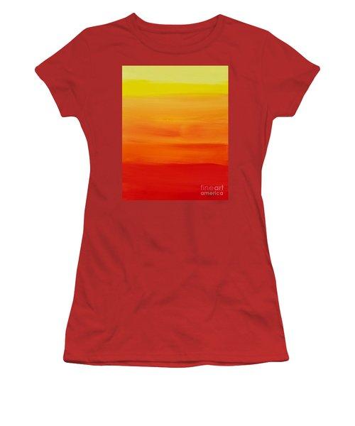 Sunshine Women's T-Shirt (Junior Cut) by Sean Brushingham
