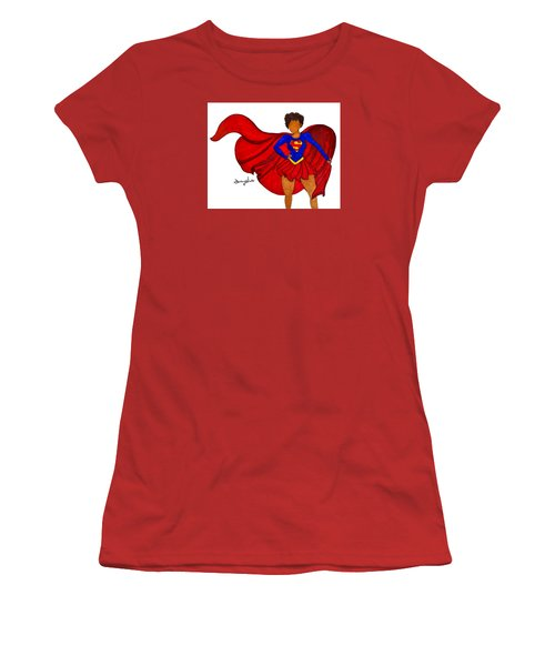 Superwoman I Am  Women's T-Shirt (Junior Cut) by Diamin Nicole