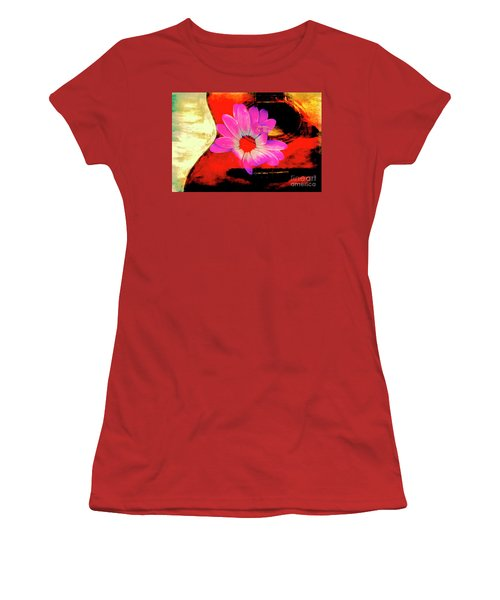Women's T-Shirt (Junior Cut) featuring the photograph Sweet Sound by Al Bourassa
