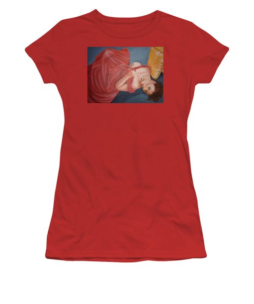 Tammy Women's T-Shirt (Junior Cut) by Bryan Bustard