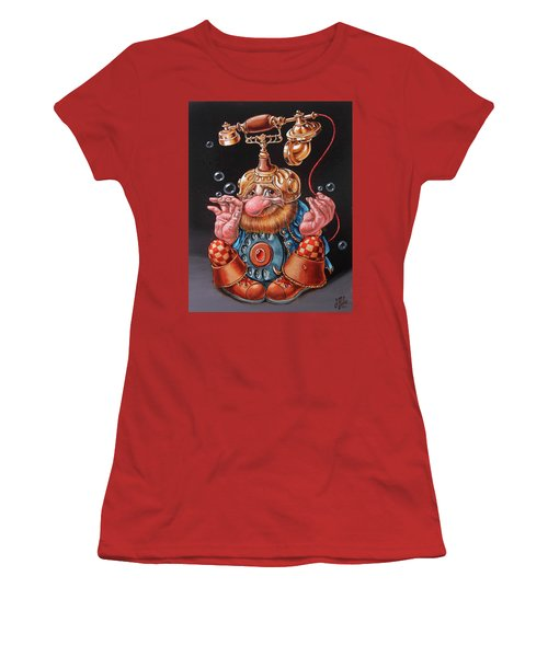 Telephonic Women's T-Shirt (Athletic Fit)