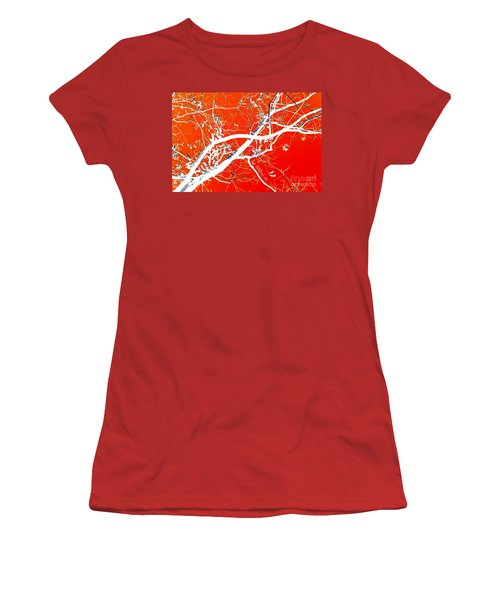 The Asian Tree Women's T-Shirt (Junior Cut) by Donna Bentley