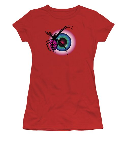 The Eye Of Fear Women's T-Shirt (Junior Cut) by MM Anderson