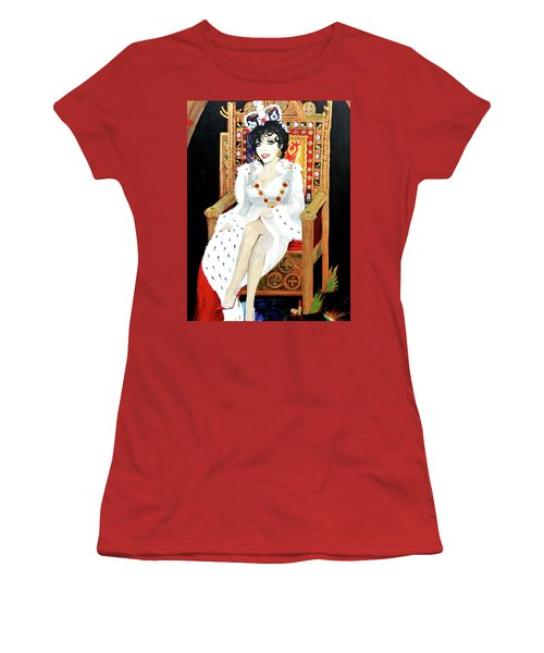 The Majestic Joan Collins D B E Women's T-Shirt (Athletic Fit)